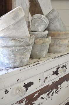 Thank you for all of your sweet comments about my painted pots! I'm so excited to show you how I completed this easy and budget friendly project. I started off with these terra cotta pots tha…