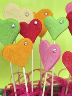 Heart Cookie Pops Recipe, Learn How To Make Heart Cookie Pops