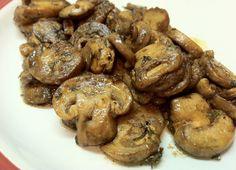 Low Carb Layla: Sauteed Mushrooms #lowcarb