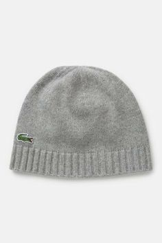 Men's Green Croc Cotton Wool Knit Beanie