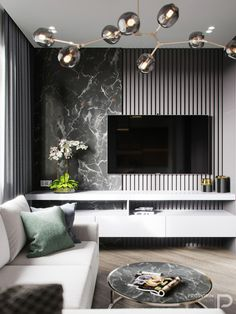 Incredibly laconic living room, with delicate color shades and stylish textures . Interior Design Minimalist, Best Interior Design, Home Interior, Interior Design Living Room, Interior Architecture, Contemporary Interior, Home Living, Living Room Modern, Living Rooms
