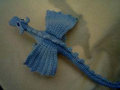 Ravelry: Fierce Little Dragon pattern by Lucy Ravenscar