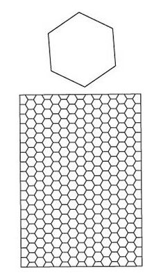 free english paper piecing hexagon templates - templates on pinterest english paper piecing hexagons