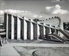 Ichimura Memorial Gymnasium, Saijō, Junzo Sakakura, 1961