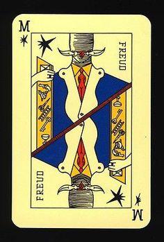 LE JEU DE Cartes DES Surrealistes Marseille France 1941 | eBay