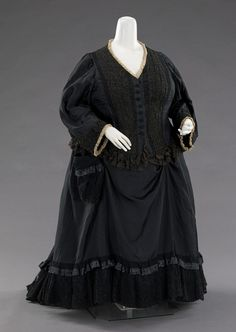 Queen Victoria's mourning dress, 1894