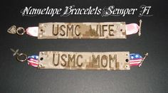 Nametape Bracelets! .... Ordered and designed my 'Carle's Wife' Woodlands bracelet last night. So excited to get it!!!