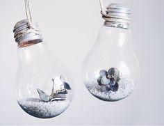 Geniale DIY Idee für Pflanzen: Die Glühbirnen Vase, Anleitung, Tutorial…