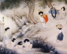 Hyewon-Dano.pungjeong - Shin Yun-bok - Wikipedia, the free encyclopedia