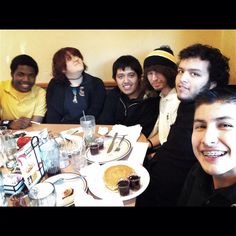 Denny's with a few good friends