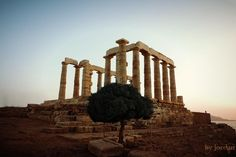 #sounio #temple #posidon #greece