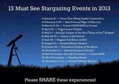 I love me some stargazing!