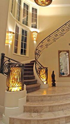 Luxury Homes- Art Nouveau Design Luxury Mansions+Estates #Luxurydotcom