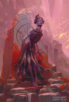 Armaros, Angel of Undoing by PeteMohrbacher on DeviantArt