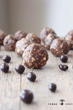 Mocha Espresso Bean Protein Balls. Vegan. GF. | Knead to Cook