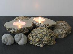 diy deko blattgold gugel aus beton blattgold diy beton. Black Bedroom Furniture Sets. Home Design Ideas