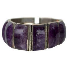 I pinned this Vintage Sterling Amethyst Bracelet from the Heirloom Giftables event at Joss and Main!