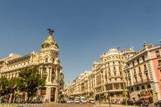 Gran Vía - Madrid by Martín Pérez on 500px