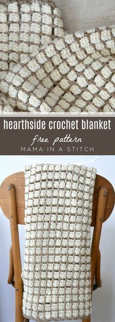 Free pattern with tutorial on how to crochet this blanket! via @MamaInAStitch