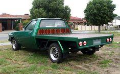 Green Holden WB one tonner Custom Truck Beds, Custom Trucks, Truck Flatbeds, Wood Tray, Monster Trucks, Cars, Green, Ideas, Autos