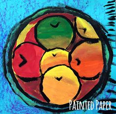 PAINTED PAPER: Matisse, Tropical Fruit and Still life.