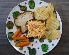 Pimento Cheese Recipes, Cheddar Cheese, Block Of Cheese, Bread Mix, Just Eat It, Roasted Red Peppers, White Bread, Bakery, Tutorials