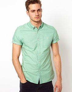 ASOS Oxford Shirt With Overdye