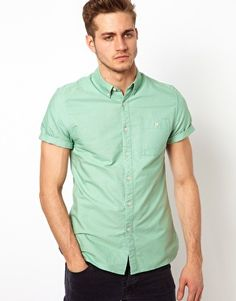 ASOS Oxford Shirt With Overdye