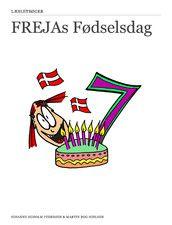 Frejas Fødselsdag er til de 5- 8 årige, indskolingen. Så man giver børnene en følelse af selv at kunne læse en historie.