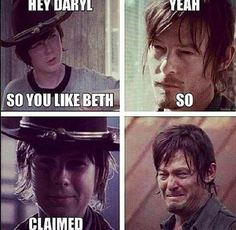"This sick burn. | 31 Things Only ""The Walking Dead"" Fans Will Understand"
