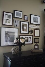 Love this wall....been looking for ideas     for scrapbooking room. I think this will work!