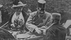 Final moments: The Archduke and Sophie in Sarajevo moments before Gavril Princip launched his attack