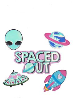 Spaced Out Plushie Sticker Pack