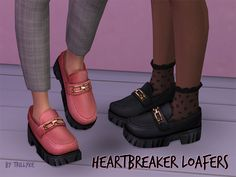 Heartbreaker Loafers | Trillyke on Patreon Sims 4 Cc Shoes, Sims 4 Mm Cc, The Sims 4 Download, Sims Community, Sims 4 Cc Finds, Sims 4 Clothing, Sims Mods, Sims 4 Custom Content, Tricks