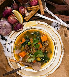 harira lamb soup - Pete Evans Chef