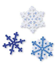 Love this Snowflake Bead Design Set by Perler on #zulily! #zulilyfinds