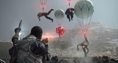"""Most notably, a new co-op Rescue Mission called """"The Captive Ferrymen"""" has come to Metal Gear Survive. Metal Gear Survive has received Updat. Playstation, Ps4, Metal Gear Survive, Mgs V, Game Informer, Metal Gear Solid, Trailer, Survival Gear, Xbox One"""