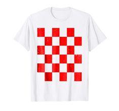 Tyrone GAA Checkered Flag Football T-Shirt Flag Football, Checkered Flag, Mens Tops, T Shirt, Fashion, Supreme T Shirt, Moda, Tee Shirt, Fashion Styles