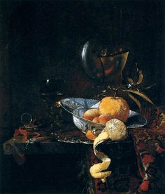 Willem Kalf (1619-1693). Still-Life with Porcelain and a Nautilus Cup