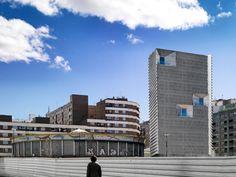 Rehabilitación del antiguo Mercado de Pescado, Tatián Cerrejon arquitecto, Zaragoza. Fotografía © Jesús Granada. Señala encima de la imagen para verla más grande.
