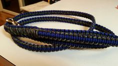 Blue with camo 6 foot leash.