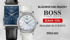 Letná akcia na hodinky Hugo Boss do Skagen, Hugo Boss, Emporio Armani, Diesel, Marc Jacobs, Tommy Hilfiger, Michael Kors, Watches, Diesel Fuel