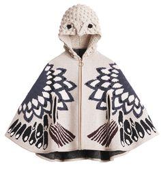 h&M all-for-children-2014 bird cape