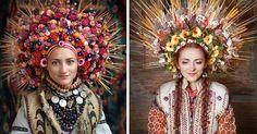 Nádherné kvetinové koruny na hlavu inšpirované slovanskou kultúrou v sebe nesú…