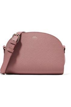 9aced1d0e3e8 A.P.C. Atelier de Production et de Création | Demi-Lune textured-leather shoulder  bag