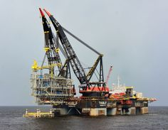 OHT's OSPREY, Heerema's Thialf, Hermod and Big Lift busy at Mafumeira project offshore Angola