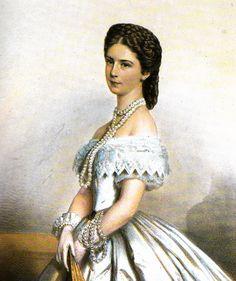 Impératrice Elisabeth en 1867