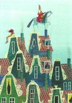 Sint en Piet op de daken, Noelle Smit