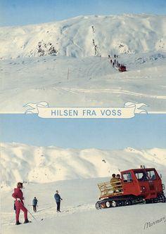 1969 Voss Norway postcard