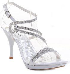 White Patent Rhinestones Ankle Strap Evening Womens High Heel Fourever Funky http://www.amazon.com/dp/B00K0VBWOC/ref=cm_sw_r_pi_dp_Aphlvb1349036